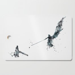 Final Fantasy Watercolor Cutting Board
