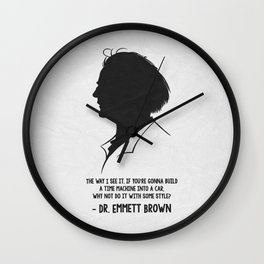 Back To The Future 02 Wall Clock