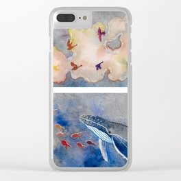 Above and Below Clear iPhone Case