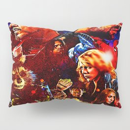 art super hero Pillow Sham
