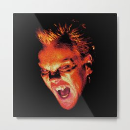 The Lost Boys David Stained Glass Metal Print