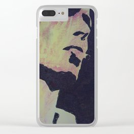 Bowie Clear iPhone Case