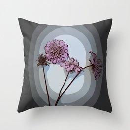 Pincushion Noir Throw Pillow