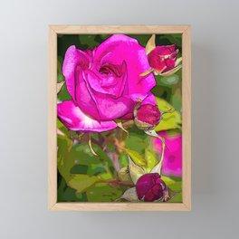 Rosa Rosales Framed Mini Art Print