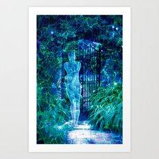 Blue Spirit Art Print