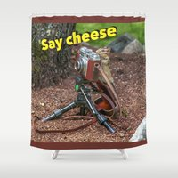 photographer Shower Curtains featuring Photographer by Robert Raney