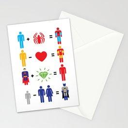 Super Math Stationery Cards