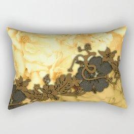 Wonderful flowers, yellow colors Rectangular Pillow
