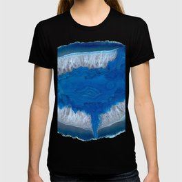 Blue Agate Slice T-shirt