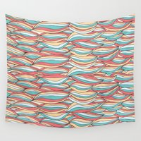 candy Wall Tapestries featuring Candy by Pom Graphic Design