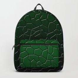 Green Shattered Ground Backpack