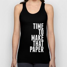 Make That Paper Unisex Tank Top
