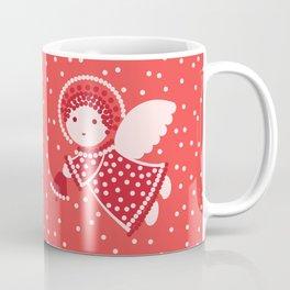 Angels on the red Coffee Mug