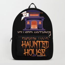 Ghost Hunting - Haunted House Party Gift Backpack