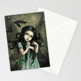 Shadow Wings Faerie Stationery Cards