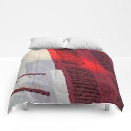 Basque Red in Sunlight Comforters