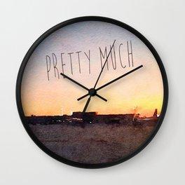 Pretty Much Wall Clock