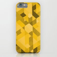 Gold Pattern iPhone 6s Slim Case