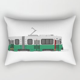 Boston Green Line Train Rectangular Pillow