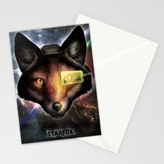 Star Fox McCloud Epic Space Poster Stationery Cards