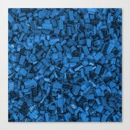 Master builder Blue Canvas Print