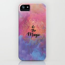 Do the Magic (colorful) iPhone Case