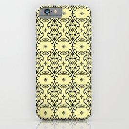 Elegant Motif on Lemon Verbena - Spring/Summer 2019 fashion color. iPhone Case