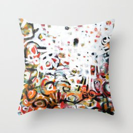 The Places We Go Throw Pillow