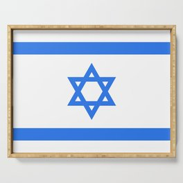 Israel Flag Serving Tray