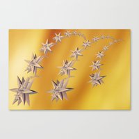 constellation Canvas Prints featuring constellation by Tanja Riedel