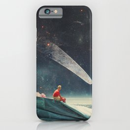Guided by Comets iPhone Case