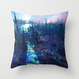 ____NEGATIVVE_LΛΛNDSCAPE_057 Throw Pillow