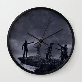 TWD Zombie Cliffhanger Wall Clock