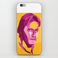 han solo iPhone & iPod Skins featuring Han Solo by Jude Beavis