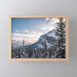Sunrise at the Fairview Mountain Framed Mini Art Print