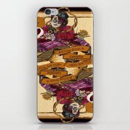 'Caterpillar' (Alice in Steampunk Series) iPhone Skin