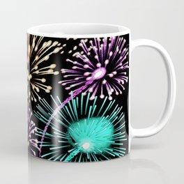 Bright firework texture Coffee Mug