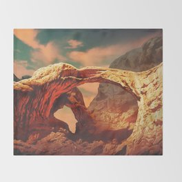 The Arch - Landscape Series Throw Blanket