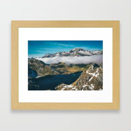 Routeburn Track Framed Art Print