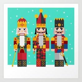 The Nutcrackers Art Print