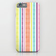 Textured Stripes iPhone 6s Slim Case