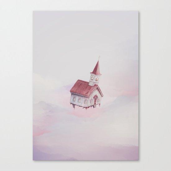 Heavenly Flight Canvas Print