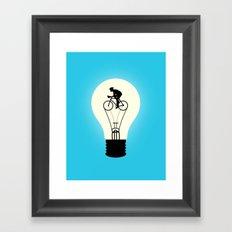Idea Power Framed Art Print