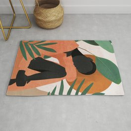 Tropical Girl 10 Rug