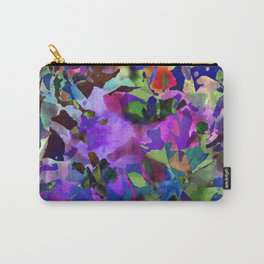 Poppy Batik Carry-All Pouch