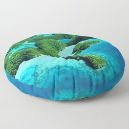 Palau Island Paradise Floor Pillow