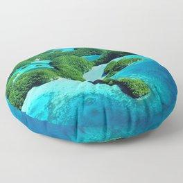 Palau Island Paradise Floor Pillow