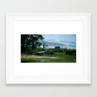montana Framed Art Prints featuring Montana by Photos By Cat