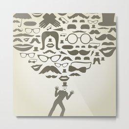 Art transformation Metal Print