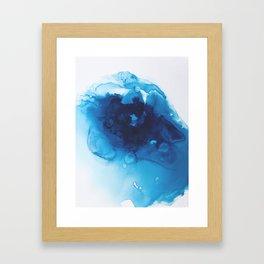 Vishuddha (Throat Chakra) Framed Art Print